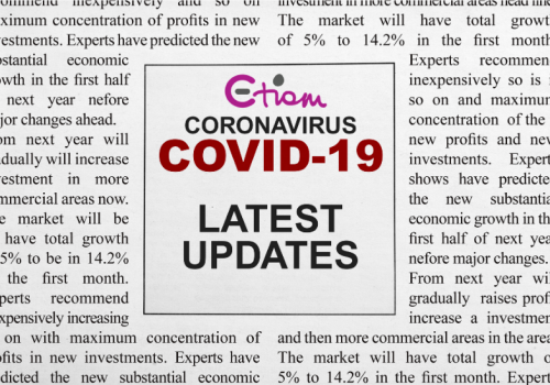 Event Precautions regarding Coronavirus (COVID-19)