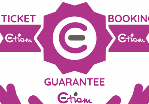 Ticket and Booking Guarantee - book with Etiom with confidence