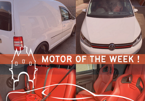 Motor of the Week - VW Caddy Clubsport
