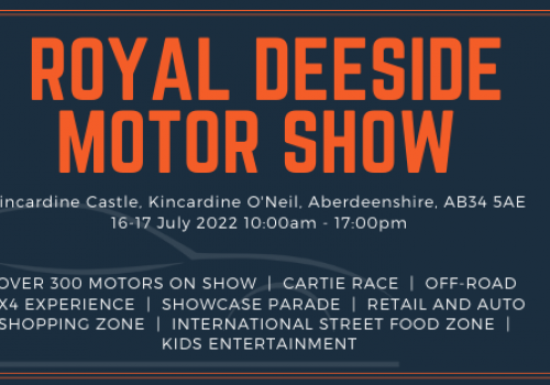 Royal Deeside Motor Show postponed to 2022