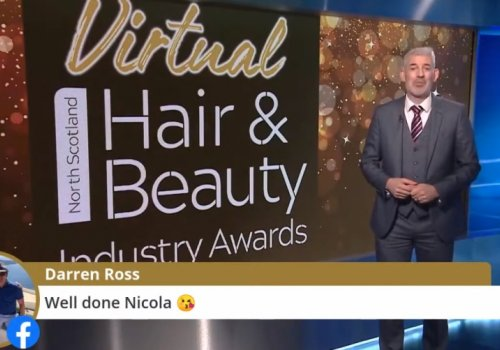 Winners crowned at the Virtual North Scotland Hair & Beauty Industry Awards