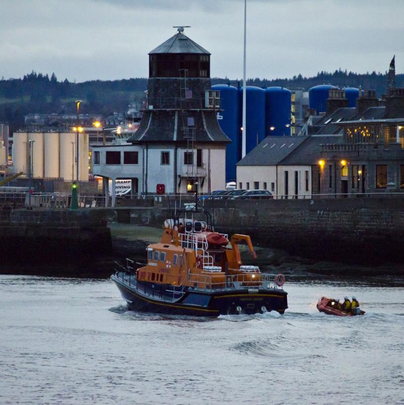 RNLI Aberdeen Lifeboat Station